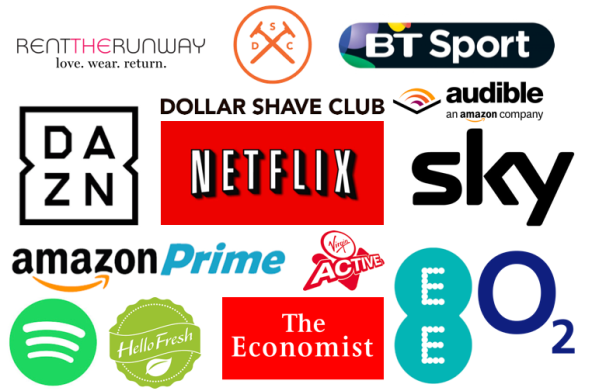 Image result for subscription services