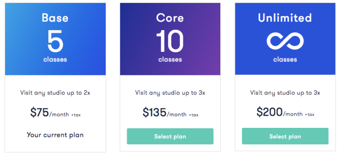 classpass-plan-costs