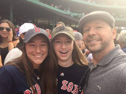 I once met Donnie at a Sox game